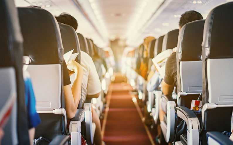 The Four Dirtiest Parts of an Airplane You Should Avoid