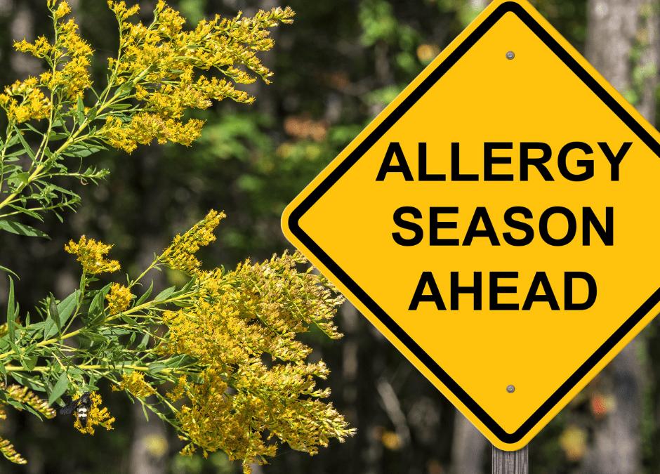 Allergy Season is Upon Us!